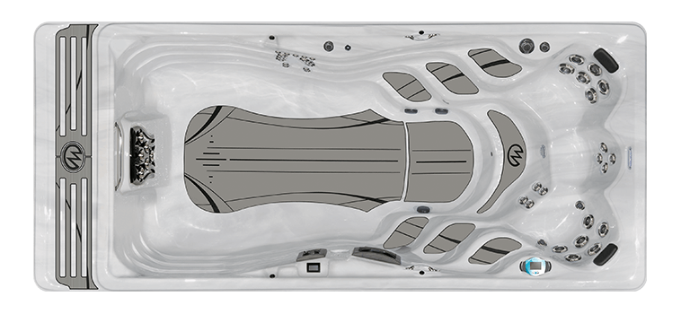 H2X Series Swim Spas Challenger 18 D